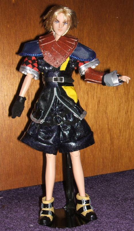 Tara Tomoes FFX 2 Shuyin 11 Doll