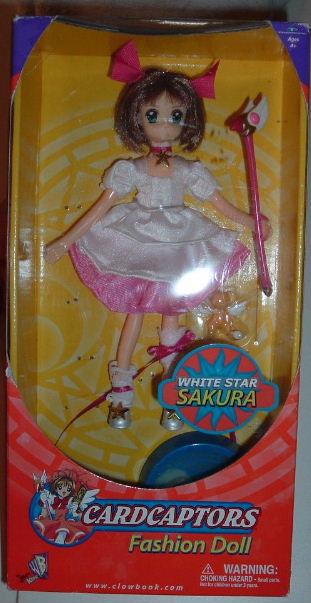 "CCS White Star 8"" Doll!!"