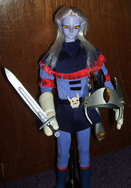 """About Us Icon >> Prince Lotor from Voltron 11"""" Volks Doll!!"""