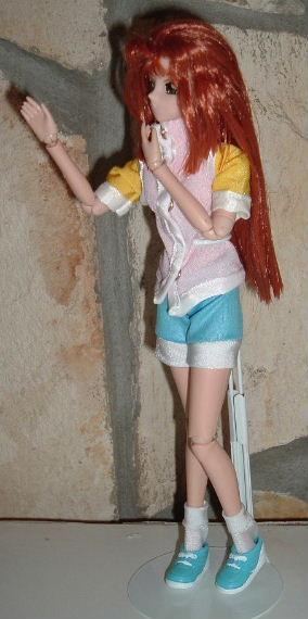 "Serenity Wheeler Version 2 10"" Volks of Japan Doll"