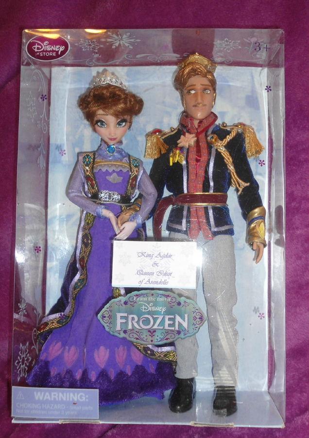 """King Agdar & Queen Idun from Frozen 11"""" Dolls!!"""